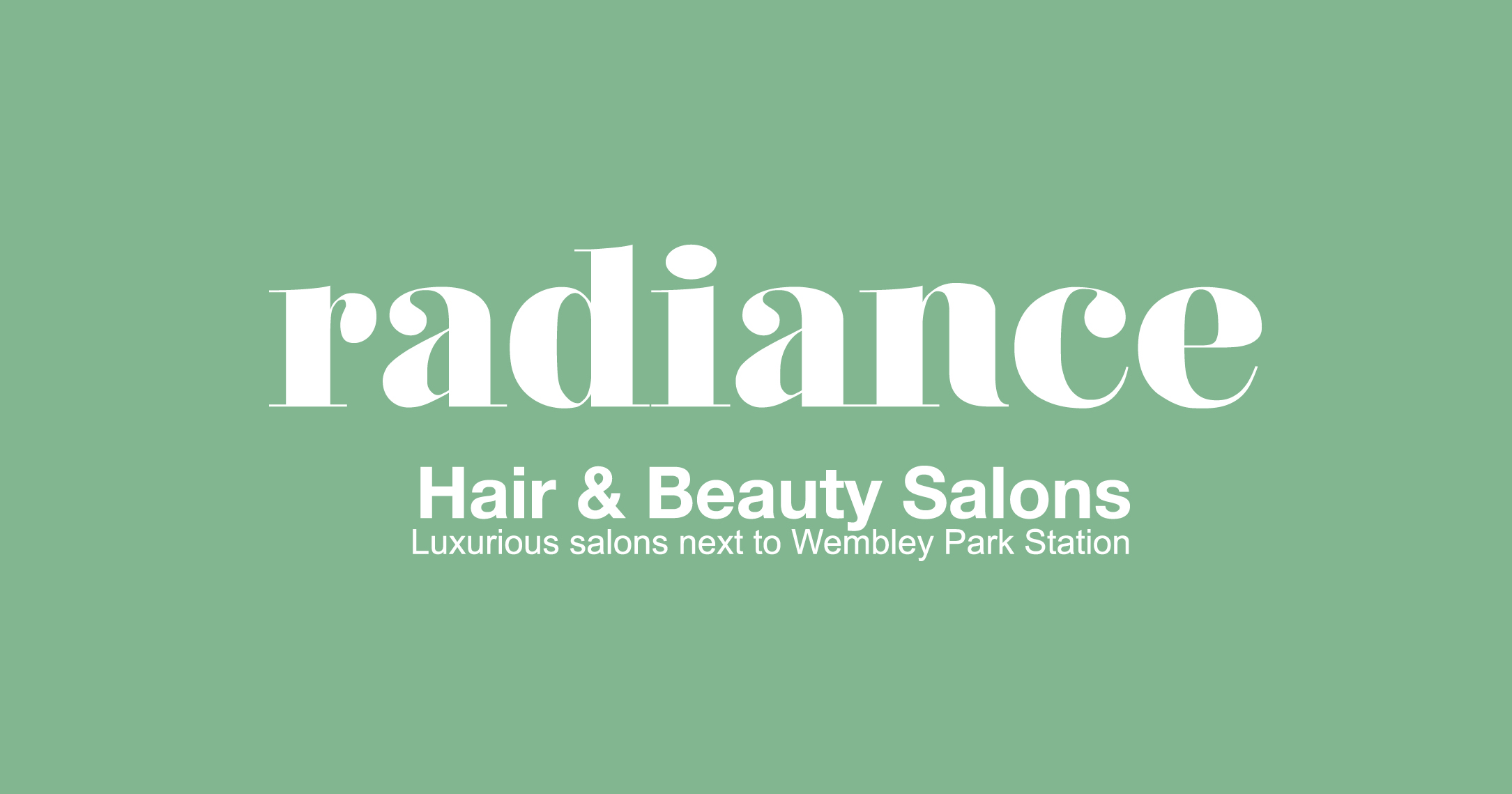 2021-01-26 Radiance hairdressing banner